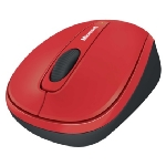 Microsoft Wireless Mobile Mouse 3500 / BlueTrack / Myš / USB / Flame Red Gloss (GMF-00293)