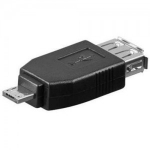 PremiumCord redukce USB F - micro USB M (kur-12)