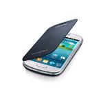 Samsung flipové pouzdro pro Samsung Galaxy S III mini (i8190) / Modré (EFC-1M7FBEGSTD)