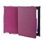 CELLY BOOKTAB ochranné pouzdro se stojánkem pro Apple iPad 4 z kolekce Ristretto, PU kůže, červené (CRISBIPA04)