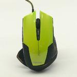 E-BLUE myš Mazer R / optická / drátová / herní / USB / 6 tlačítek + kolečko / 2400 dpi / zelená (MMEBE24UGG00)
