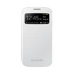 EF-CI950BWE SAMSUNG Flip Pouzdro S-View pro i9505 Galaxy S4 White (EU Blister) (EF-CI950BWEGWW)
