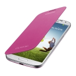 SAMSUNG flipové pouzdro pro SAMSUNG Galaxy S IV (i9505, i9506) / Růžová (EF-FI950BPEGWW)