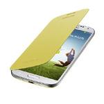 SAMSUNG flipové pouzdro pro SAMSUNG Galaxy S IV (i9505, i9506) / Žlutá (EF-FI950BYEGWW)