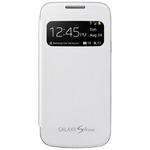 Samsung flipové pouzdro S-view pro Samsung Galaxy S4 mini (I9190) / Bílé (EF-CI919BWEGWW)