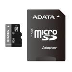 ADATA Premier Micro SDHC karta 8GB + SD adaptér / UHS-I U1 Class 10 / R: 30MB/s / W: 10MB/s (AUSDH8GUICL10-RA1)