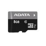 ADATA Premier Micro SDHC karta 8GB / UHS-I U1 Class 10 / R: 30MB/s / W: 10MB/s (AUSDH8GUICL10-R)