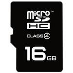 EMTEC micro SDHC karta 16GB / Class 4 / + adaptér SD (ECMSDM16GHC4)