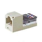 UTP modul RJ45 MiniJack kat.5E/ bílý (CJ588WHY)