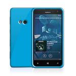 TPU pouzdro Celly Gelskin /pro Nokia Lumia 625 / modré fluo (GELSKIN356LB)
