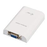 i-tec USB 2.0 Display Video Adapter / VGA / Full HD / bílý (USB2VGA)