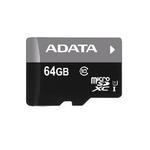 ADATA Premier Micro SDXC karta 64GB / UHS-I Class 10 / R: 30MB/s / W: 10MB/s (AUSDX64GUICL10-R)