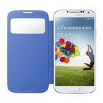 SAMSUNG flipové pouzdro S-view pro SAMSUNG Galaxy S 4 (i9505) / světle modrá (EF-CI950BCEGWW)