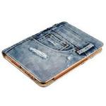 TRUST Jeans Folio Stand pouzdro pro tablety 7 - 8 / univerzální / modrá (19481)
