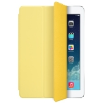 APPLE iPad Air Smart Cover žlutý - polyuretanový ochranný kryt pro iPad Air (MF057ZM/A)