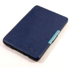 C-TECH PROTECT pouzdro hardcover pro Amazon Kindle Paperwhite 2 / WAKE-SLEEP funkce / AKC-06 / modré (EBPCT1152)