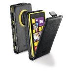 CellularLine Flap Essential pouzdro / pro Nokia Lumia 1020 / PU kůže / černá (FLAPESSENL1020BK)