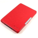 C-TECH PROTECT pouzdro hardcover pro Amazon Kindle Paperwhite 2 / WAKE-SLEEP funkce / AKC-06 / červené (EBPCT1151)