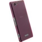Krusell zadní kryt FROSTCOVER pro Sony Xperia Z1 Compact / růžová (89943)