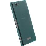 Krusell zadní kryt FROSTCOVER pro Sony Xperia Z1 Compact / modrá (89942)
