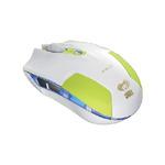 E-BLUE myš Cobra S / optická / drátová / USB / 6 tlačítek + kolečko / 1600 dpi / zelená (MMEBE28UGG00) - E-Blue Cobra S EMS128GR