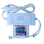 RGB LED kontrolér se zdrojem 12V 72W Premium Line s IR dálkové ovládání / 24 tlačítek (110291)