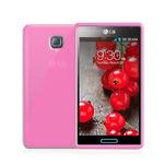 CELLY Gelskin TPU zadní kryt pro LG Optimus L7 II / růžové / výprodej (GELSKIN303P)