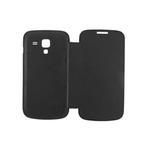 ANYMODE flip pouzdro pro Samsung Galaxy Trend/Trend Plus, PU kůže, černé / výprodej (BZFC002KBK)