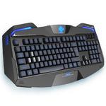 E-BLUE Auroza klávesnice / herní / USB / US layout / + CZ a SK přelepy / podsvícené okraje (YCEBUG71BC)