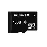 ADATA Micro SDHC karta 16GB / Class 4 / R: 14MB/s / W: 5MB/s (AUSDH16GCL4-R)