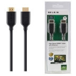 Belkin HDMI - HDMI / 1.4 AV kabel / Gold / 2 m / černý (F3Y021bf2M)