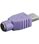 PremiumCord Redukce USB male - PS/2 female (4040849689185)