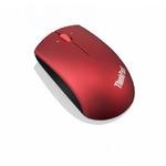 Lenovo ThinkPad Precision Wireless Mouse / 2.4GHz / Bezdrátová optická myš / 1200dpi / microUSB / Heatwave Red (0B47165)