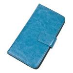 """Univerzální flipové pouzdro 4 - 4.5 / velikost M / modré (PBOUNIMBL) - Pouzdro Aligator BooK M 4-4,5"""" modré"""