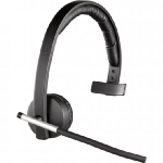 Logitech Wireless Headset Mono H820e / business / černá (981-000512)