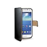 CELLY Wally pouzdro typu kniha pro Galaxy S4 mini / černé (WALLY332)