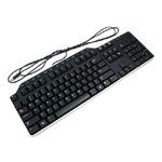 DELL KB-522 klávesnice / multimediální / CZ / QWERTZ / USB / černá (580-17678)