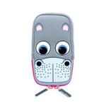 TabZOO stylové pouzdro pro mobilní telefony / univerzální velikost / Hroch (CTZ-UNI-HIPPO)