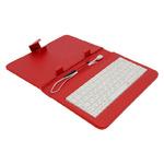 AIREN AiTab Leather Case 1 pouzdro pro 7 tablet / s USB klávesnicí / CZ / SK / červené (Leather Case 1 7R)