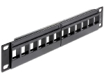 Delock 10 Keystone Patch Panel / 12 Portů (43259)