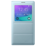 Samsung flipové pouzdro S-view pro Samsung Galaxy Note 4 / Mátové (EF-CN910BMEGWW)