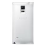 SAMSUNG flipové pouzdro typu Wallet pro SAMSUNG Galaxy Note 4 / Bez vzorku / Bílé (EF-WN910FTEGWW)