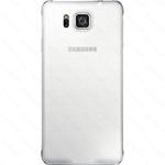 SAMSUNG zadní kryt pro SAMSUNG Galaxy Alpha / Bílá (EF-OG850SWEGWW)