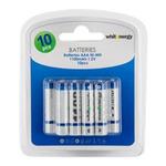 Whitenergy Nabíjecí baterie 10xAAA / 1100mAh / Ni-MH / blister (06778-BL)