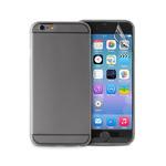 Puro zadní kryt pro Apple iPhone 6 / 4.7 / Ultra-Slim / fólie na displej / černá (IPC64703BLK)
