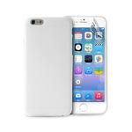 Puro zadní kryt pro Apple iPhone 6 / 4.7 / Ultra-Slim / fólie na displej / transparentní (IPC64703TR)