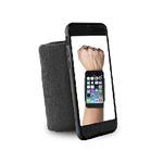 Puro sportovní náramek s rámečkem pro Apple iPhone 6 / 4.7 / černá (IPC647RUNBLK)