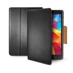 CELLY Wally pouzdro typu kniha pro Samsung Galaxy Tab 4 8.0 / PU kůže / černé (WALLYT32)