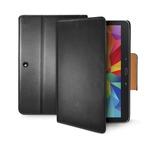 CELLY Wally pouzdro typu kniha pro Samsung Galaxy Tab 4 10.1 / PU kůže / černé (WALLYT33)