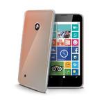 CELLY Gelskin TPU zadní kryt pro Nokia Lumia 530 / bezbarvé (GELSKIN427)